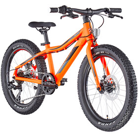 "Serious Trailkid 20"" Enfant, race fire red"